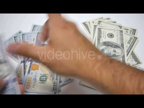 Dollar Bills Old & New - Stock Footage