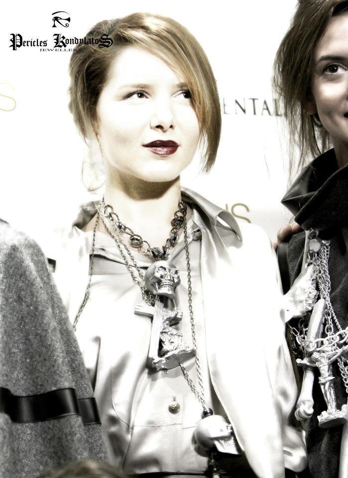 Kondylatos Jewellery @ 2012 – Athens X-clusive Designers Week Garments by Ourania Kay