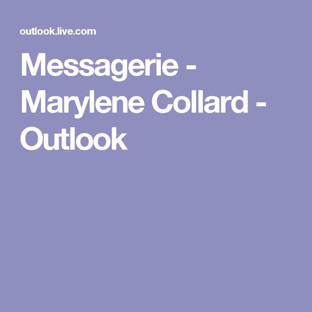 Messagerie - Marylene Collard - Outlook