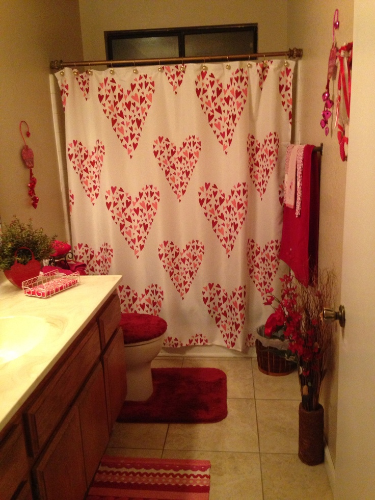 53 Best Valentines Bathroom Decor Images On Pinterest