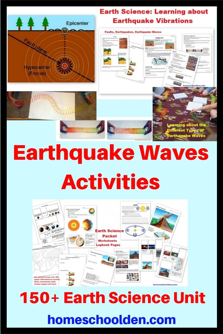 In our Earth Science Unit, we learned about earthquakes and the ...