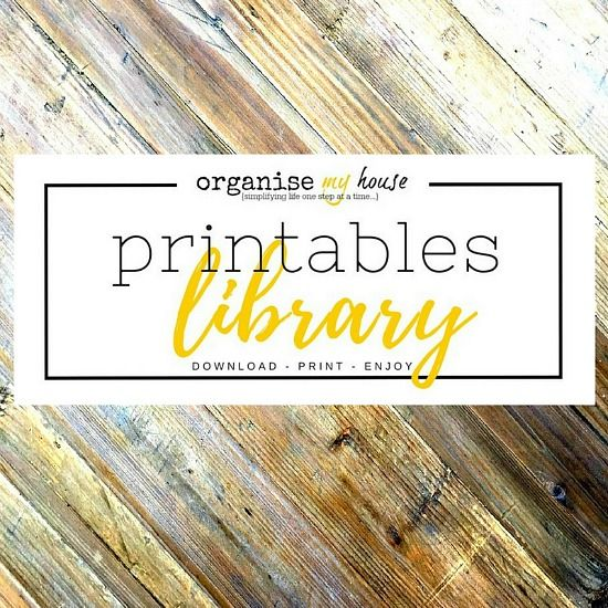 Free Printables Collection - Library of printables to download