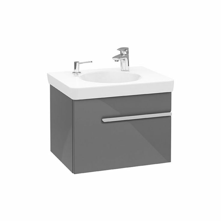 V&B Joyce 1 Drawer Vanity Unit for 4105 basin : ukBathrooms