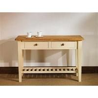 Tables Painted Pine Hall Or Side Table 4′ – Mottisfont MHT1…
