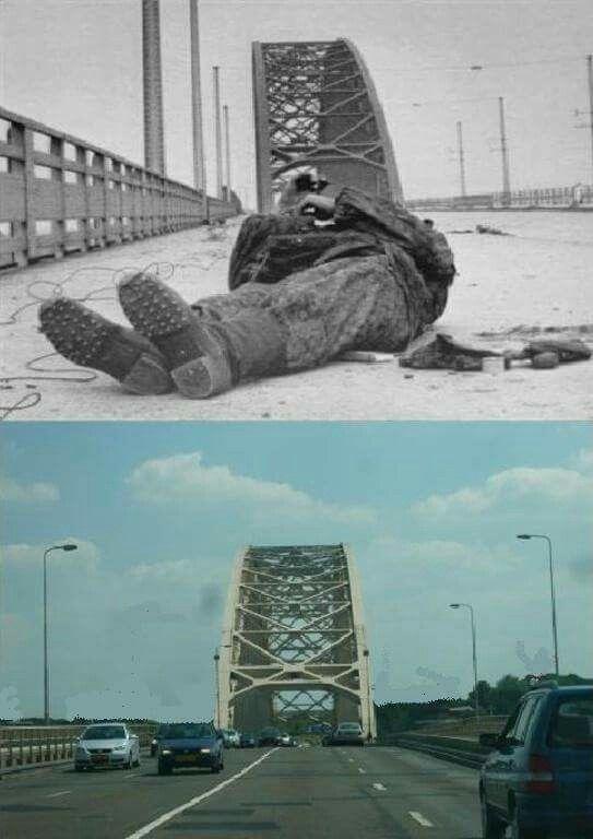 Then  U0026 Now Arnhem Bridge