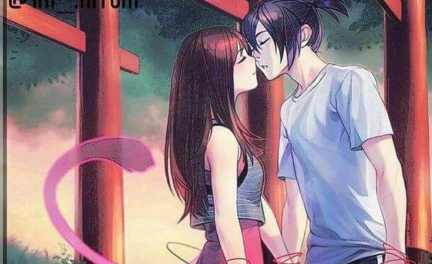 Noragami The return of Yato's ponytail <3