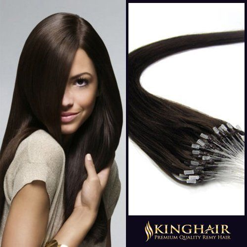 63 best hair care hair extensions wigs images on pinterest 16 inch dark brown2 micro loop ring beads premium remy human hair extensions50s 05g pmusecretfo Choice Image