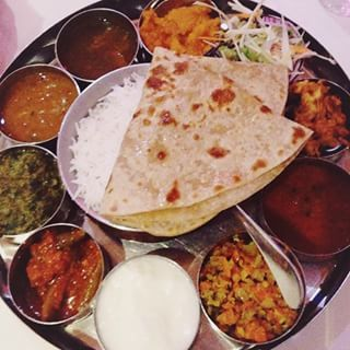 Vegetarian thali at Shri Bheema's. |Shri Bheema's is a legendary Aberdeen restaurant serving up a wide range of classic curries. There's also a meaty thali available for indecisive carnivores. 22 Things To Eat In Aberdeen Right Now