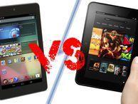 Amazon Kindle Fire HD vs Google Nexus 7: tiny tablet tussle! How does the new Amazon Kindle Fire HD tablet that's headed to the UK compare to Google's Nexus 7?
