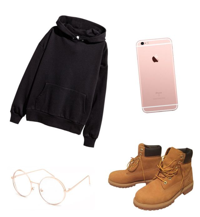 """""""Untitled #2"""" by alexandra-kermanidis on Polyvore featuring H&M, Timberland and Full Tilt"""