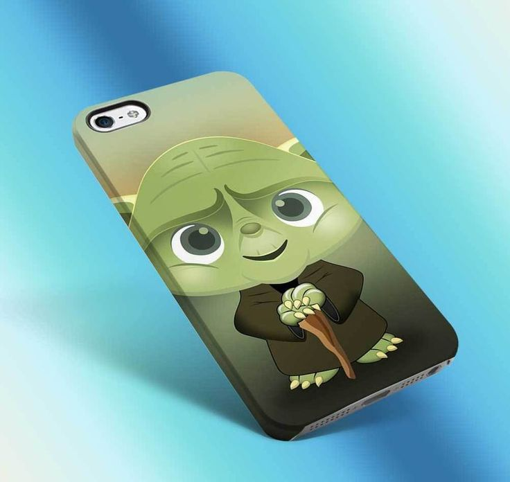 yoda star wars cartoon vintage funny cute the jedi master iphone case 3d 6 6s 06 #UnbrandedGeneric