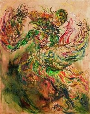 Garuda by Affandi