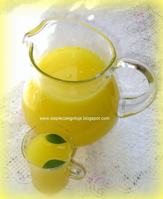 In my kitchen: Lemoniada cytrynowo-pomarańczowa