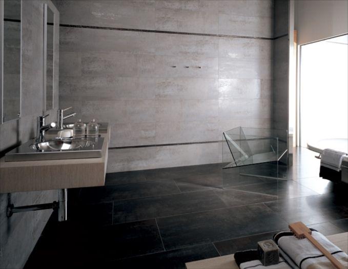 Porcelanosa usa ruggine aluminio ceramic wall tile www for Carrelage porcelanosa