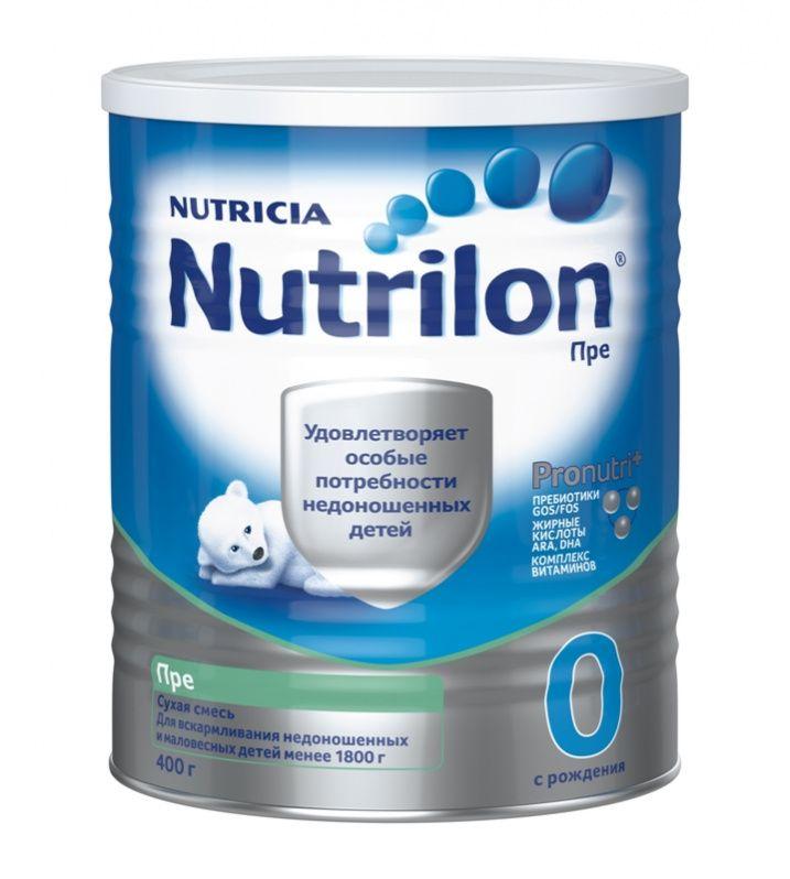 Nutrilon® Pre 0 Недоношенный ребенок нуждается в специальном питании. Смесь Nutrilon Пре 0 специально разработана для вскармливания недоношенных и маловесных детей с массой тела до 1800 г и удовлетворяет все потребности в питании Вашего ребенка. Nutrilon Пре 0 обеспечит ребенка дополнительной энергией, белком, фосфором, кальцием и витамином D. Благодаря уникальному комплексу PronutriPlus, смесь Nutrilon Пре 0 способствует развитию Вашего малыша.