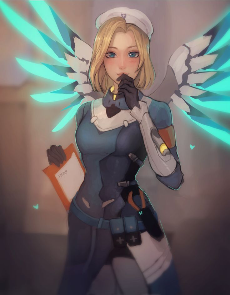 Mercy | Overwatch | Know Your Meme