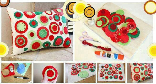 Felt Cushion Design