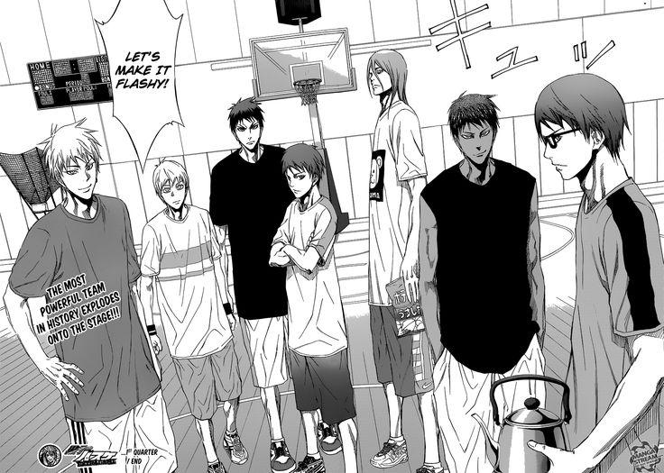 Read manga Kuroko no Basuke - Extra Game 001 - Make It Flashy! online in high…