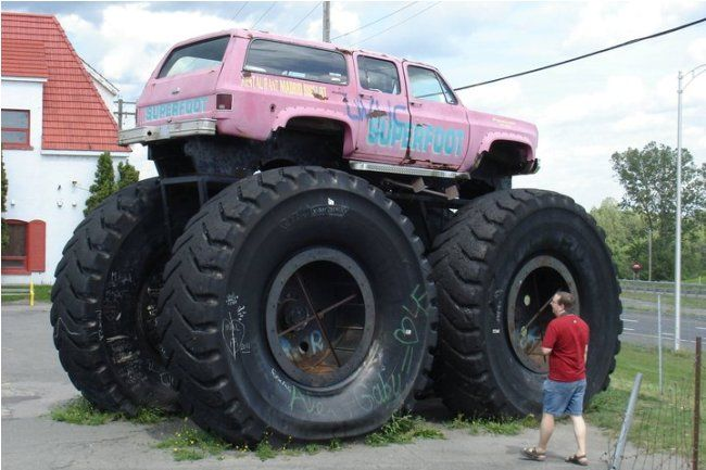 Tallest Monster Truck | ... really small or is that truck ...