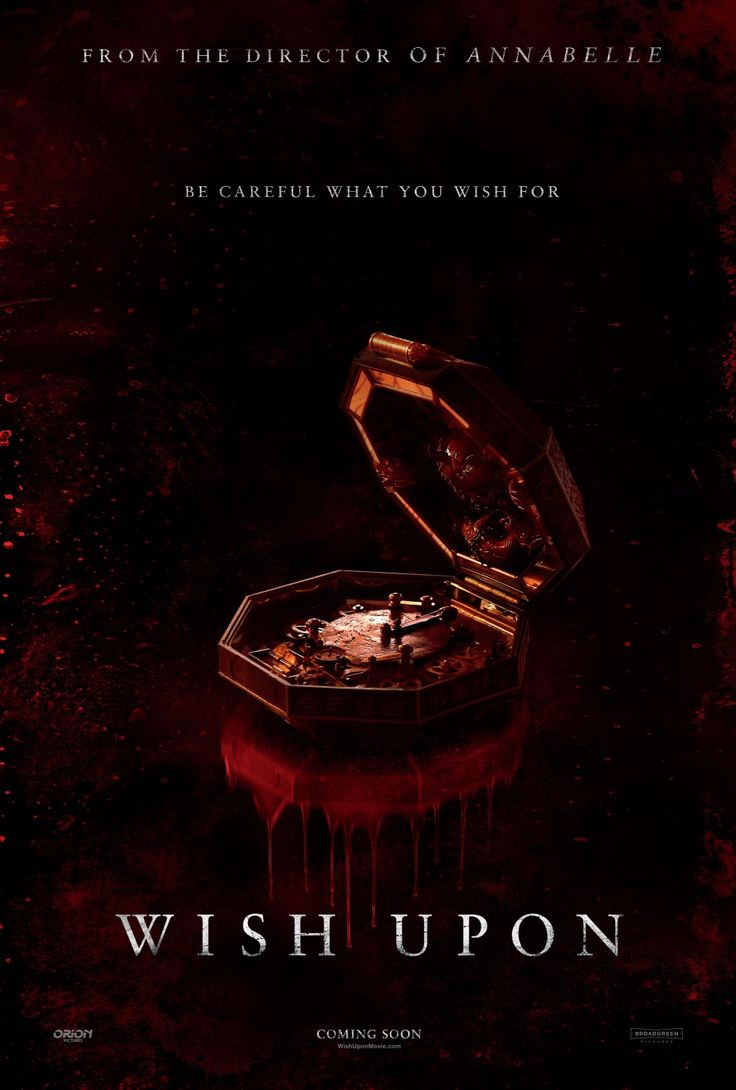 WISH UPON horror movie review starring Joey King, Ryan Phillippe, Shannon Purser, and Sherilyn Fenn!