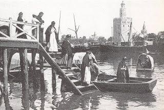 """""""Al pasar la barca, me dijo el barquero...""""  www.trianaocio.es"""