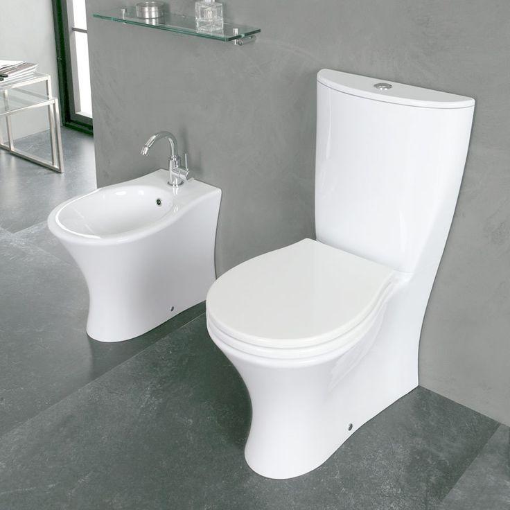 Toilet lavt skyl Formosa i Italiensk design