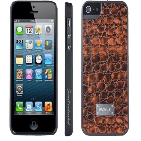 FoneBitz - iPhone 5/5s iWalk leather shield case