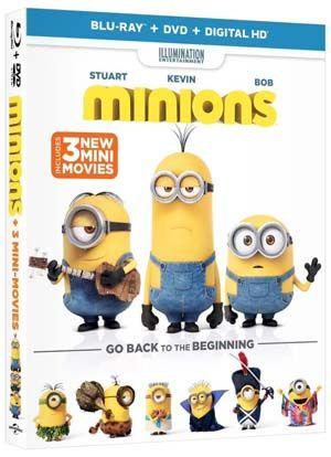 Minions Blu-ray Giveaway – 2 #Minions winners