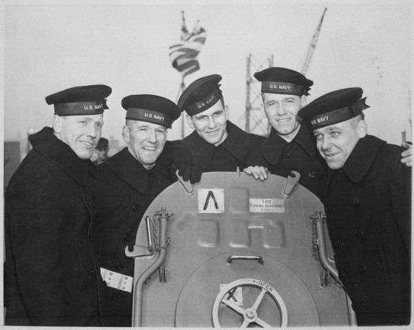 The Fighting Sullivan Brothers (all were lost in Nov. 1942 when their ship, the USS Juneau, was sunk at the Naval Battle of Guadalcanal.