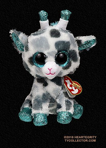 NEW Beanie Boo Gia The Giraffe Claire s Exclusive  1bc2015ba223