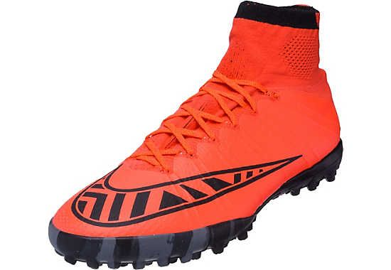Nike MercurialX Proximo Turf Shoes - Bright Crimson