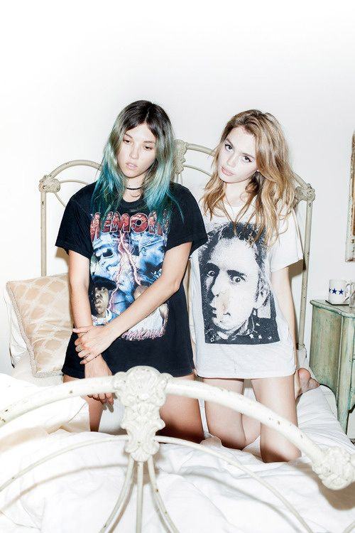 trouble in pairs... http://fashiongrunge.com/2013/07/07/inspiration-trouble-in-pairs/
