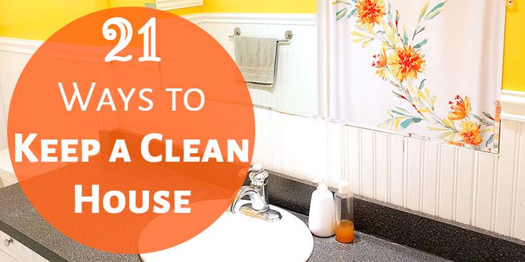 Keeping our house tidy really equals tons of tiny tasks. Take a look at how to keep a clean house. It'll make a huge difference in your home!