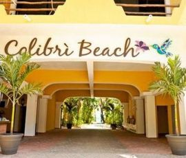 Colibri Beach Hotel - 15% Off 	The Colibri Beach is located right in the heart of Playa del Carmen on the beautiful beaches of the Riviera Maya with a total of 25 rooms and 5 small cabañas. Most rooms face the tropical garden and some of them have gorgeous ocean views. When you step out of your room, you are directly on the beach and can feel the pure, white sand under your feet.