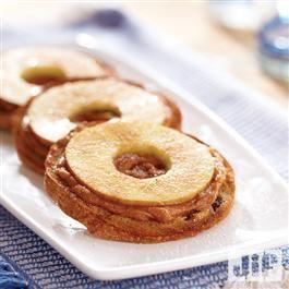 Crispy Almond Apple Rings from Jif®