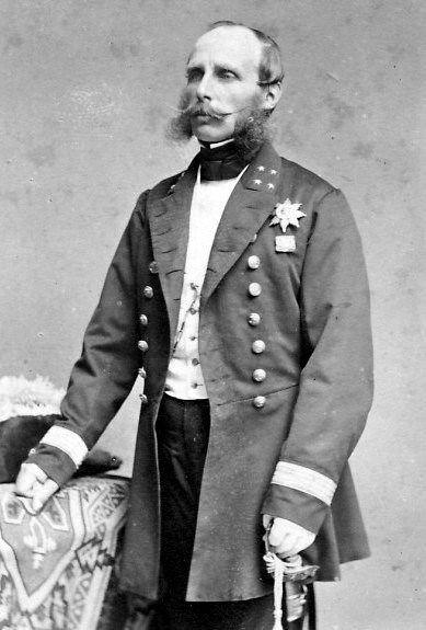 Prins Hendrik (Soestdijk, 1820 – Walferdange, Luxemburg, 1879) was de derde zoon van Willem II en Anna Paulowna. Hij had een lange carrière in de marine en werd daarom ook wel 'De Zeevaarder' genoemd. Vanaf 1850 was hij de 'stadhouder' (bestuurder) van het Groothertogdom Luxemburg, dat toentertijd in het bezit was van koning Willem III.