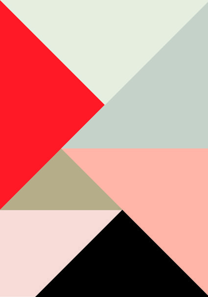 Color triangles iPhone wallpaper