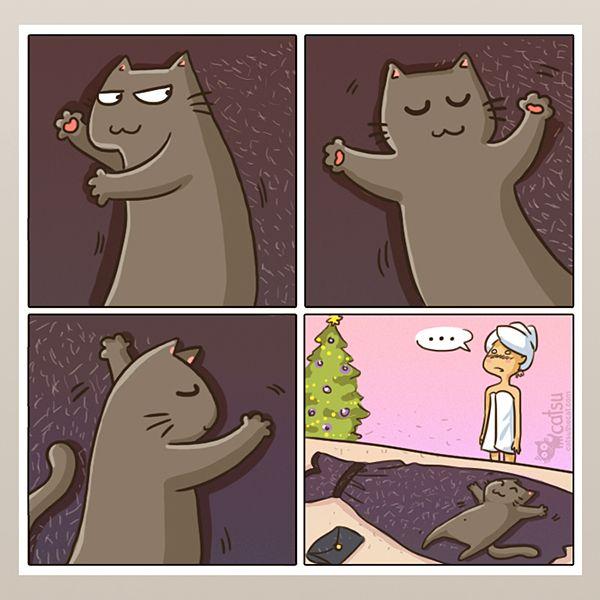 Comics | Catsu The Cat