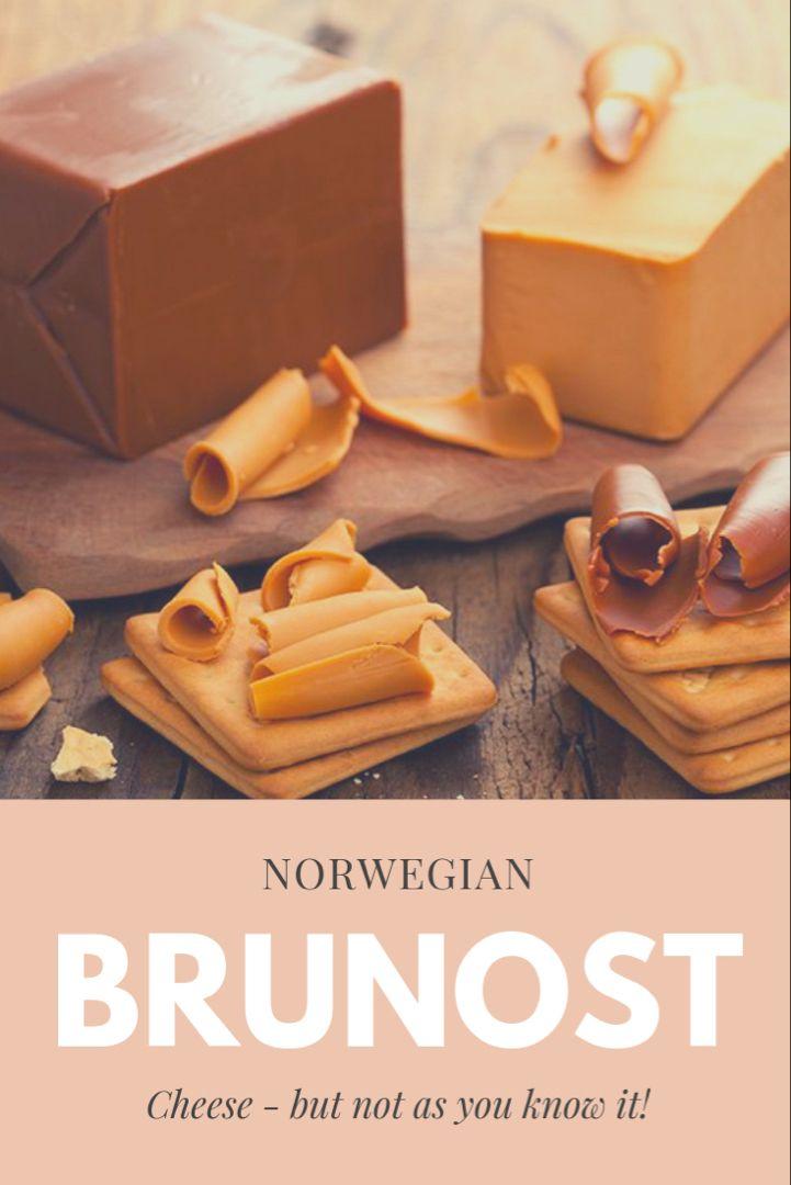 This Is Brunost Norwegian Brown Cheese Life In Norway Scandinavian Food Norwegian Food Viking Food