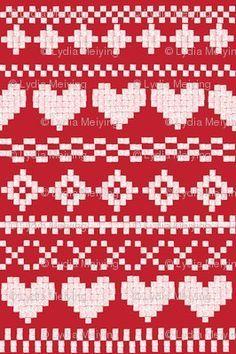 Afbeeldingsresultaat voor yoshi fair isle knit