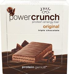 Power Crunch® Triple Chocolate  12 Bars  $15.99