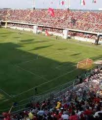 """Estadio Luis """"Pirata"""" de la Fuente en el Puerto de Veracruz. Casa de los Tiburones Rojos del Veracruz."""