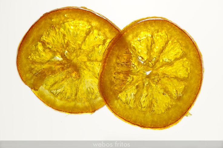 Receta de naranjas confitadas, fabulosas para adornar vuestro roscón de Reyes.