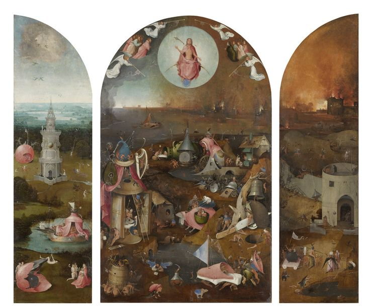 Hieronymus Bosch depicts human depravity and divine punishment with a perverse, if not gleeful, imagination.