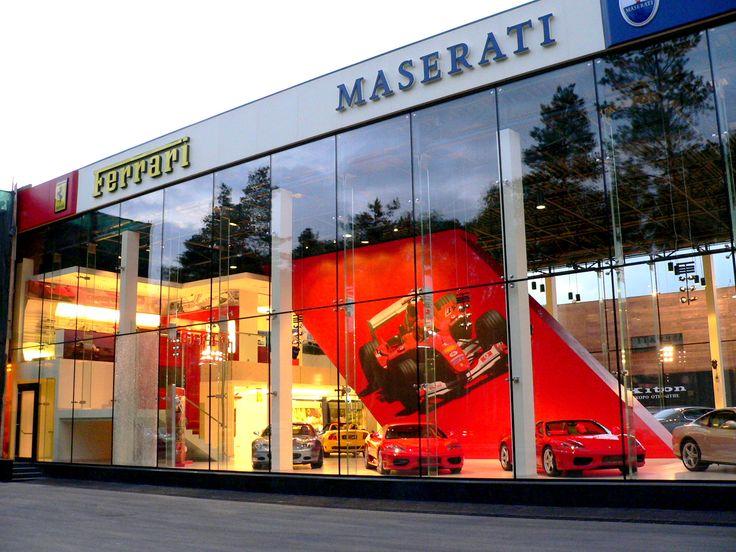 Ferrari Showroom Moscow Barvikha