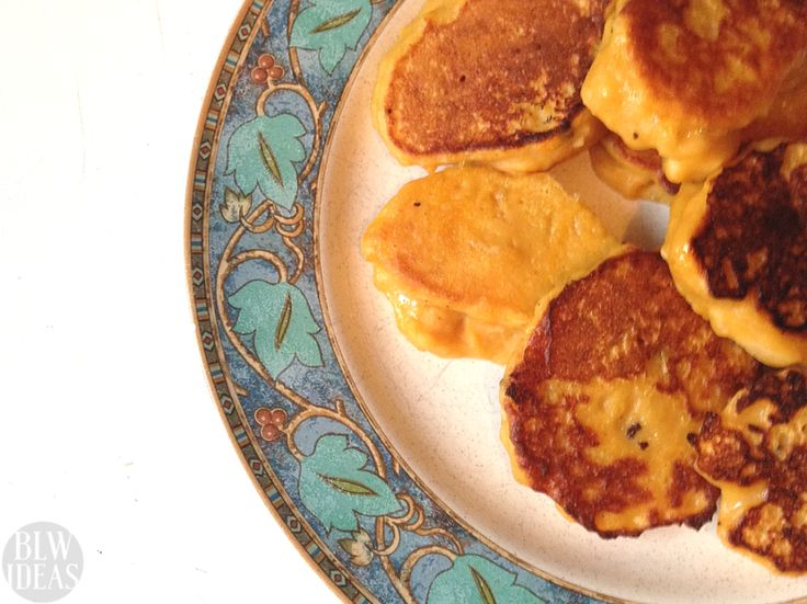 Sweet Potato and Apple Fritters - Baby Led Weaning Ideas