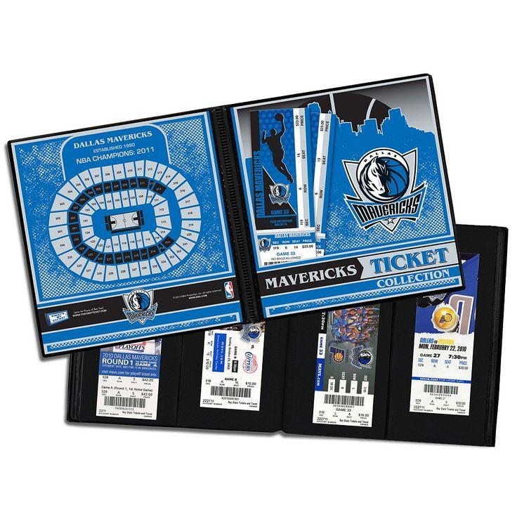 Dallas Mavericks Ticket Album, Multicolor