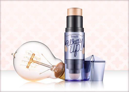 Benefit Cosmetics - watt's up! soft focus highlighter for face #benefitgals #beauty
