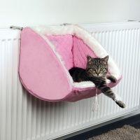 Panier, niche et coussin pour chat