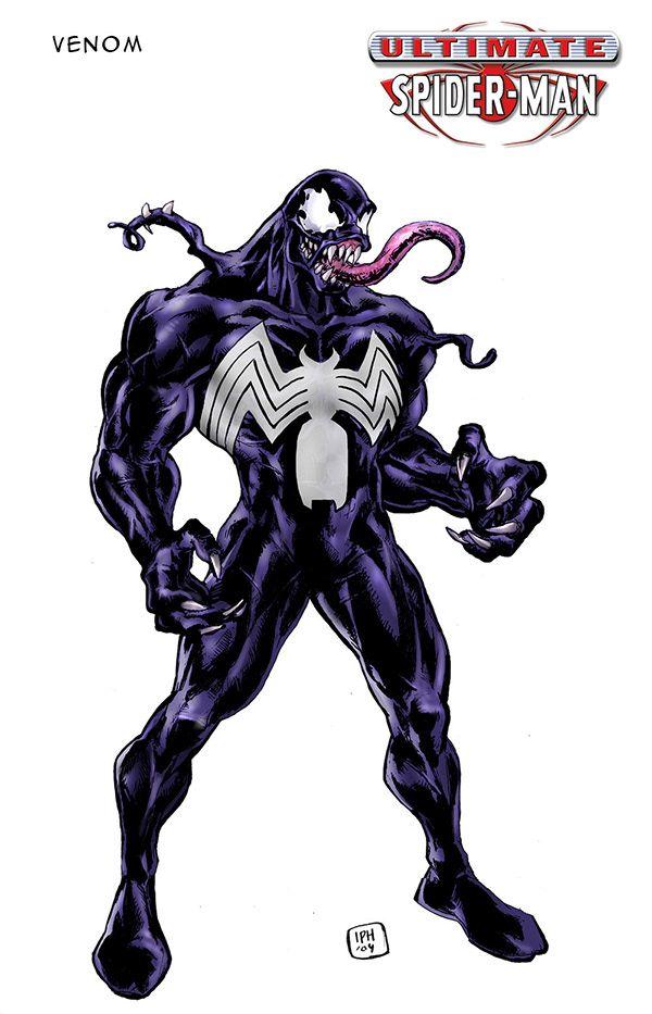 Ultimate Spider-man Venom : ultimate, spider-man, venom, Hosfeld, Concept, Illustration, ULTIMATE, SPIDER-MAN, Ultimate, Spiderman,, Venom, Spiderman